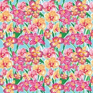 """Oracal 651 Patterned Adhesive Vinyl - Orchid Blue 12"""" x 12"""" sheet"""