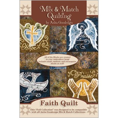 Anita Goodesign Full Collections: Faith Quilt