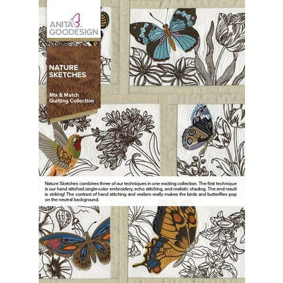 Anita Goodesign Full Collections: Nature Sketches