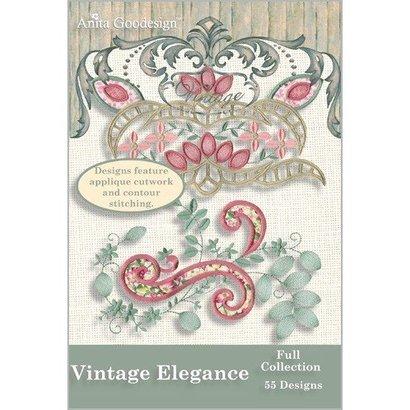 Anita Goodesign Full Collections: Vintage Elegance