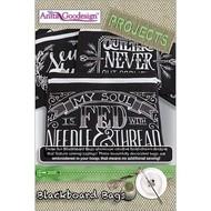 Anita Goodesign Mini Collections: Blackboard Bags