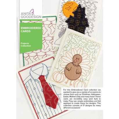 Anita Goodesign Mini Collections: Embroidered Cards