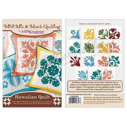 Anita Goodesign Mini Collections: Hawaiian Quilt
