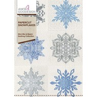 Anita Goodesign Mini Collections: Paper cut Snowflakes