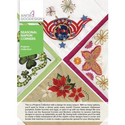 Anita Goodesign Mini Collections: Seasonal Napkin Corners
