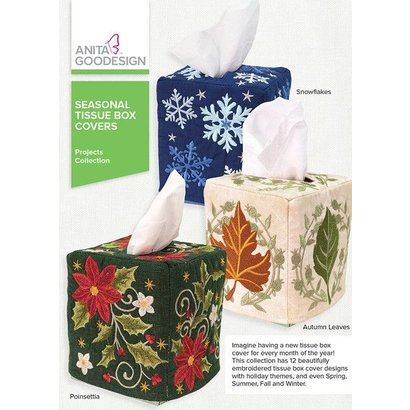 Anita Goodesign Mini Collections: Seasonal Tissue Box Covers