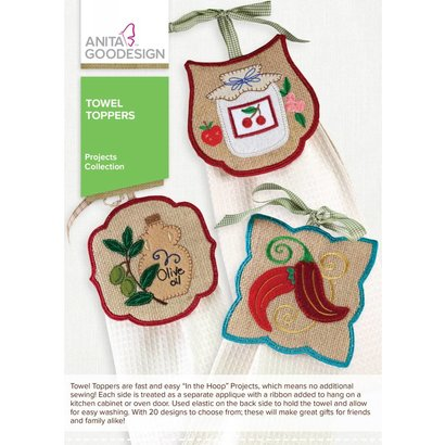 Anita Goodesign Mini Collections: Towel Toppers