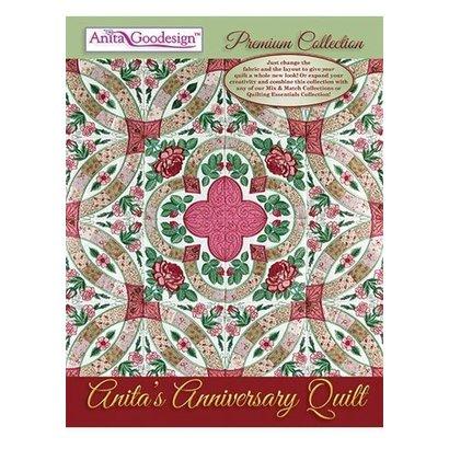 Anita Goodesign Premium Editions Anita's Anniversary Quilt