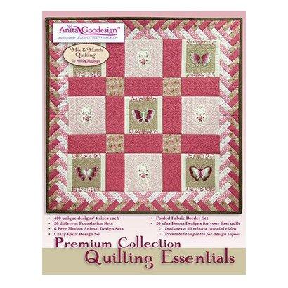 Anita Goodesign Premium Editions: Quilting Essentials