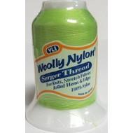 Checker Woolly Nylon Thread 1000m 160 Lime Green