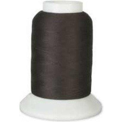 Checker Woolly Nylon Thread 1000m 162 Real Dark Brown