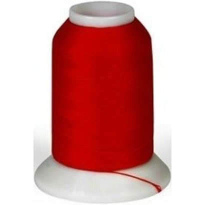 Checker Woolly Nylon Thread 1000m 283 Christmas Red
