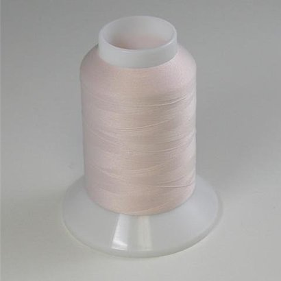 Checker Woolly Nylon Thread 1000m 509 Off White/Pink