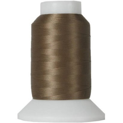 Checker Woolly Nylon Thread 1000m 078 Brown