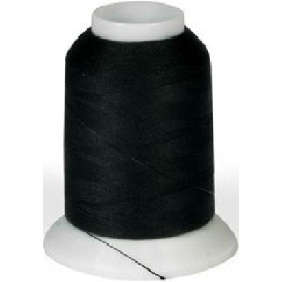 Checker Woolly Nylon Thread 1000m Black