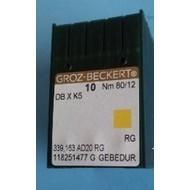 80/12 Sharp Point Titanium Groz Beckert Needles