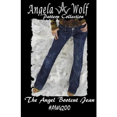 Angela Wolf The Angel Boot Cut Jean Pattern (0-16)