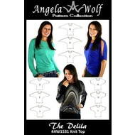 Angela Wolf The Delila Top- Misses XXS-XL