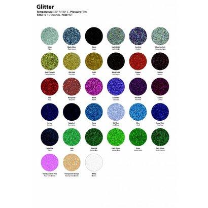 "Siser Glitter 20"" x 12"" sheets (320°F 10-15 seconds)"