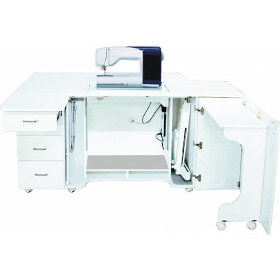 Model 40 Combo Sewing Embroidery Serger Cabinet [CALL FOR Interesting Serger And Sewing Machine Combo