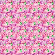 "Oracal 651 Patterned Adhesive Vinyl - Rose Bunch 12"" x 12"" sheet"