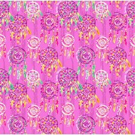 """Oracal 651 Patterned Adhesive Vinyl - Dreamcatcher Pink 12"""" x 12"""" sheet"""