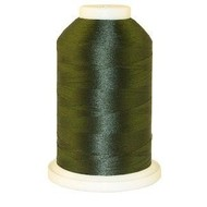 Brother 1000 Yard Satin Finish Polyester Olive Green #519