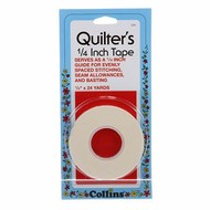 Collins Quilters Tape 1/4in x 24yds