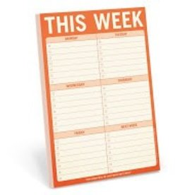 Knock Knock This Week Notepad