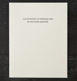 Sapling Press Mild Confessions-Beyonce Card