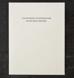 Sapling Press Mild Confessions-Beyonce Card