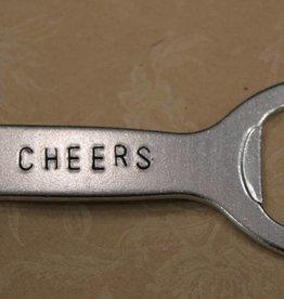 """Kimberly Monaco Designs """"Cheers"""" Bottle Opener Keychain"""