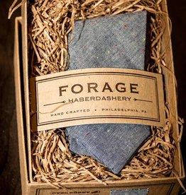 Forage Haberdashery Denim Fleck Bow Tie
