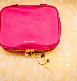 Boulevard Isabella Jewelry Case -Berry