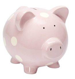 Elegant Baby Pink Piggy Bank