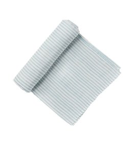 Pehr Stripe Swaddle - Light Blue