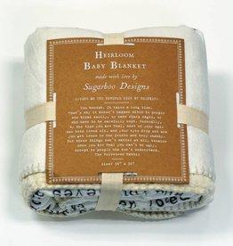 Sugarboo Designs Baby Blanket- Velveteen Rabbit
