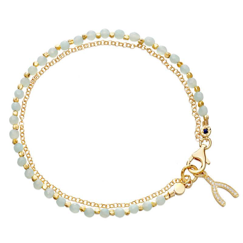 Astley Clarke Wishbone Friendship Bracelet