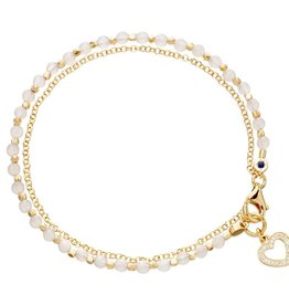 Astley Clarke Heart Friendship Bracelet