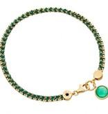 Astley Clarke Let's Dance Bracelet With Green Quartz
