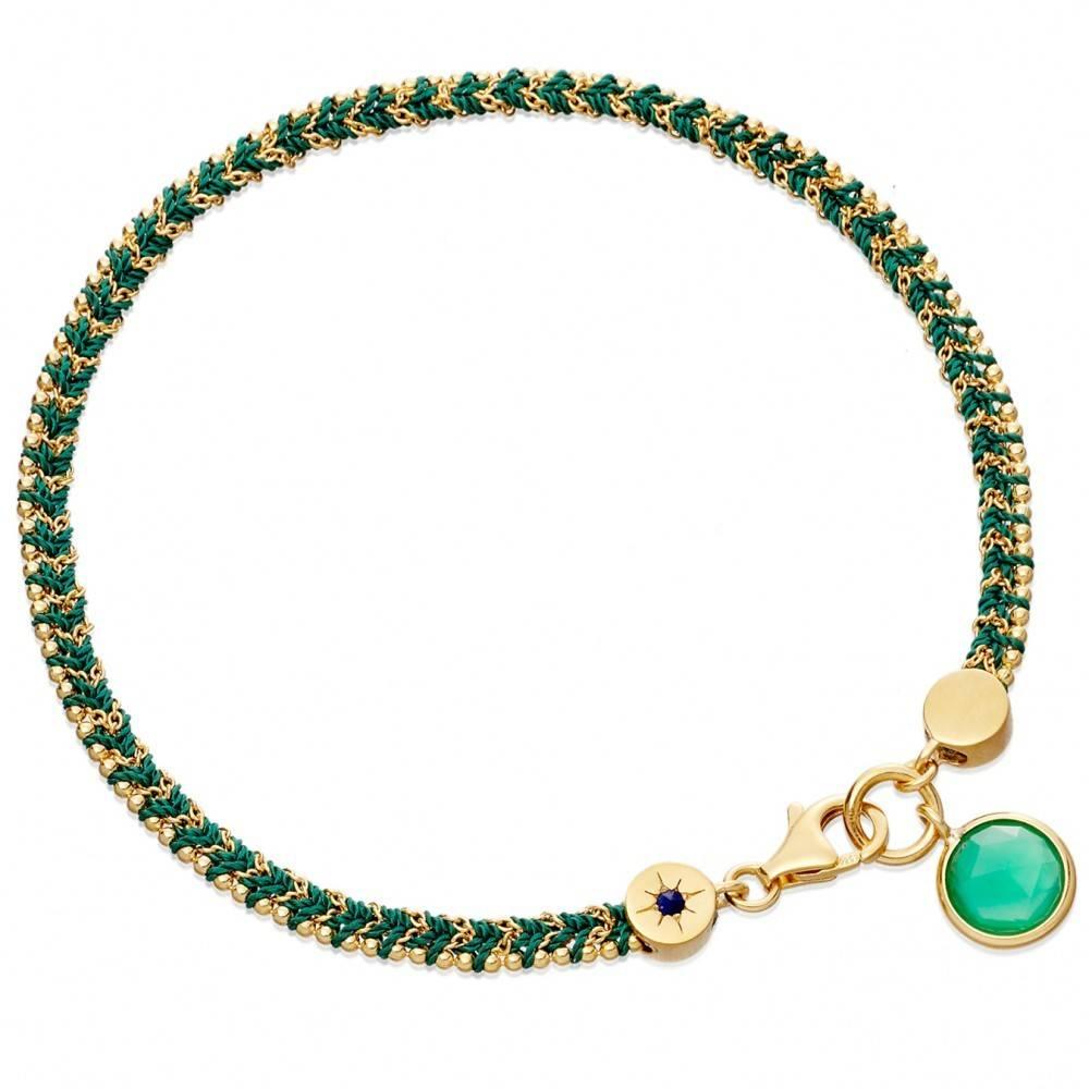 Astley Clarke Let S Dance Bracelet With Green Quartz