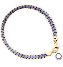 Astley Clarke Mood Indigo Cosmos Stones Bracelet