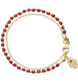 Astley Clarke Hamsa Friendship Bracelet