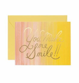 Rifle Paper Co. You Make Me Smile Card