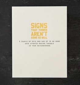 Sapling Press Signs/Fresh Prince Card