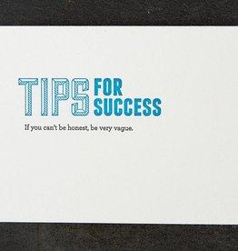 Sapling Press Honest  Card