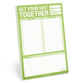 Knock Knock Get Your Sh*t Together Notepad