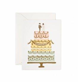 Rifle Paper Co. Congrats Wedding Cake Card