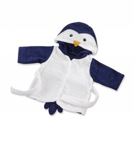 baby ASPEN Penguin Hooded Spa Robe
