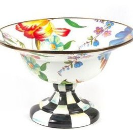 MacKenzie-Childs Flower Market Large Compote